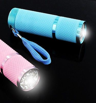 9 LED Torch Lanterns – Glow in the Dark