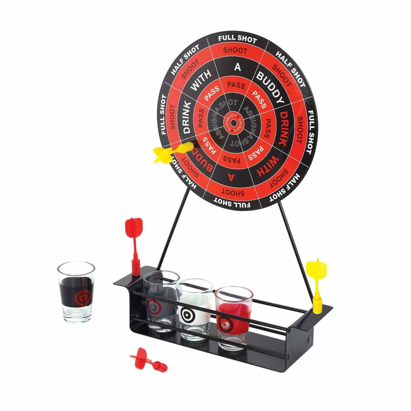 Magnetic Dart Board Drinking Game Set Shopmonk