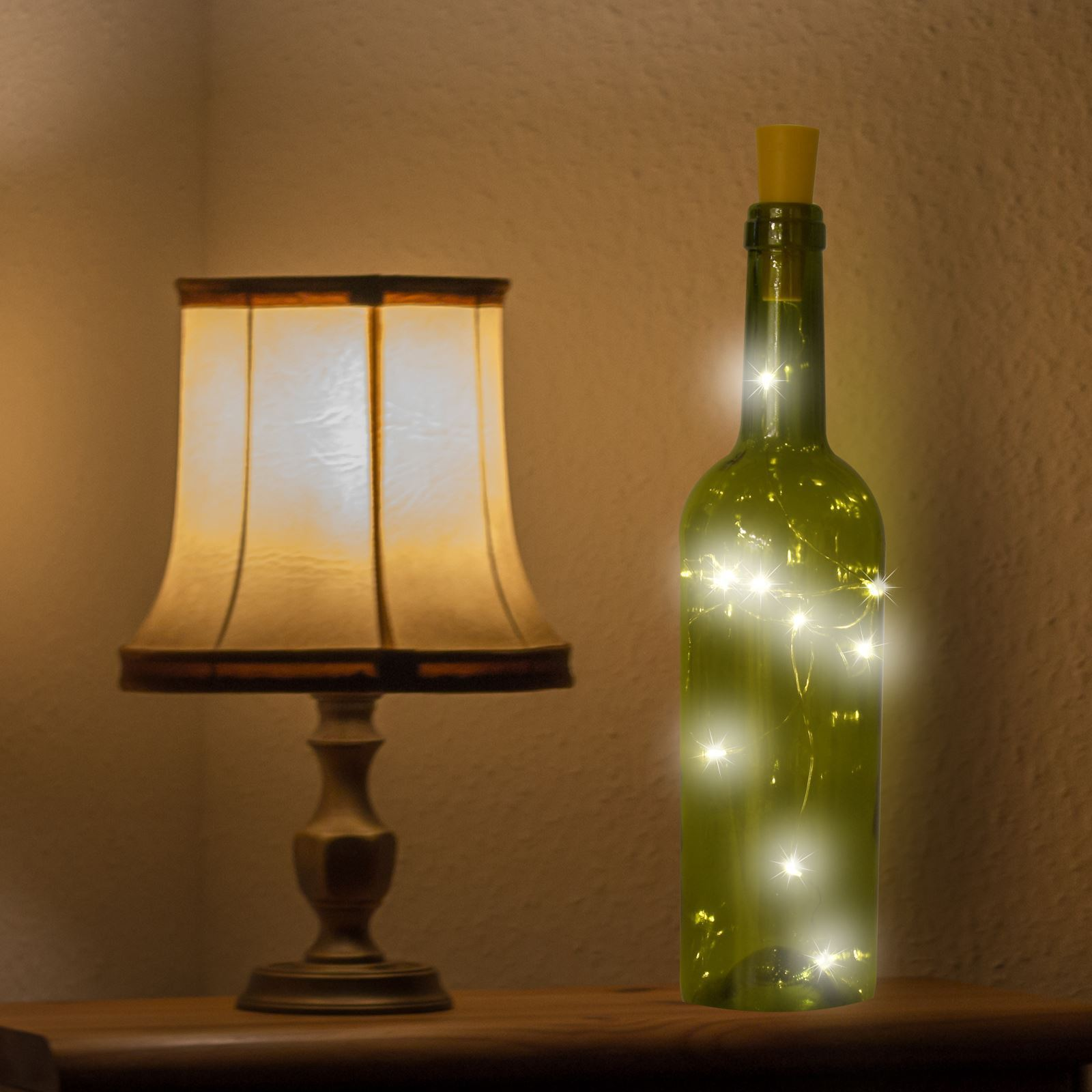 10 Led Wine Bottle Cork Fairy Light Shopmonk